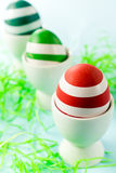 Creative eggs Royalty Free Stock Images