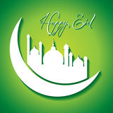 Creative Eid greeting Stock Photos