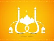 Creative elegant Ramadan Kareem background design Royalty Free Stock Images