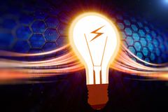 Creative energy Stock Image