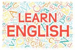 Creative english alphabet texture vector illustration