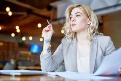 Creative entrepreneur Stock Photography