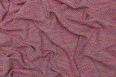 Creative of fabric with regular tiny patterns.  royalty free stock photos