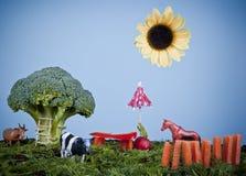 Creative Farm royalty free stock photo