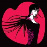 Creative fashion beautiful women with style Royalty Free Stock Image
