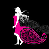 Creative fashion beautiful women with style Royalty Free Stock Photos