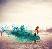 Creative fashion Stock Photography