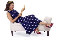 Creative Fashion Designer Thinking Royalty Free Stock Image