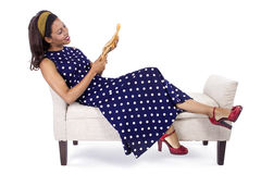Creative Fashion Designer Thinking Royalty Free Stock Photos
