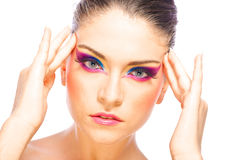 Creative Fashion Make up Stock Photos