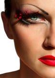 Creative fashion makeup Royalty Free Stock Photography