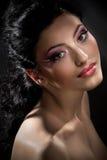Creative fashion makeup Stock Image
