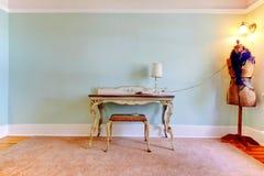 Creative fashion studio room as home office. Royalty Free Stock Photo
