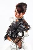 Creative fashion Woman Stock Photo