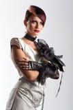 Creative fashion Woman Royalty Free Stock Photography