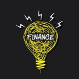 Creative finace idea concept Stock Photos