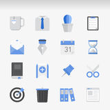 Creative Flat  icon set Royalty Free Stock Photography
