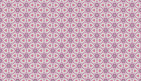 Creative floral geometric ornament. Seamless pattern. pink color. for wallpaper, invitation Stock Photography
