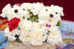 Creative flower arrangement Stock Images