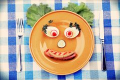 Creative food Royalty Free Stock Photos