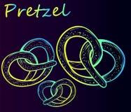 Delicious Bavarian Pretzels Royalty Free Stock Image