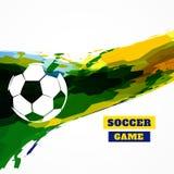 Creative football design Stock Images