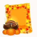 Creative frame for Thanksgiving Day. Stock Photos
