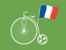 Creative France Soccer / Football Background. Stock Photo