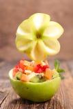 Creative fruit salad Royalty Free Stock Image