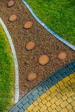 Creative Garden Pathway Royalty Free Stock Photography