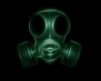 Creative gas mask Royalty Free Stock Image