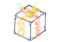 Creative gift box Royalty Free Stock Photo