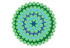 Creative Gingham pattern vector illustration