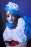 Creative girl. Royalty Free Stock Image