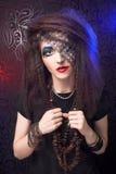 Creative girl Royalty Free Stock Photography