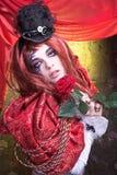 Creative girl Royalty Free Stock Photo