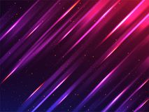 Creative glowing abstract background with stripes line light eff. Ect Royalty Free Stock Photography