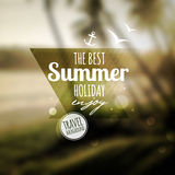 Creative graphic message for your summer design Stock Photo