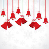 Creative greeting card for christmas Royalty Free Stock Image