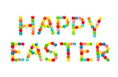 Creative Greeting card Happy Easter royalty free stock images