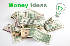 Creative growing money idea Stock Photo