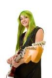 Creative guitarist Royalty Free Stock Photos