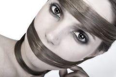 Creative Hairdress royalty free stock photo