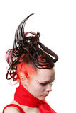 Creative hairdress Stock Photo