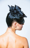 Creative Hairstyle Royalty Free Stock Image