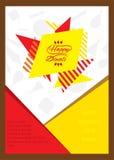 Creative happy diwali festival greeting design Stock Image