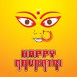 Happy navratri festival poster desgin Royalty Free Stock Photo