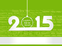 Creative Happy New Year 2015 Background. Stock Images