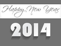 Creative Happy New Year 2014 celebration background. Creative Happy New Year 2014 background Stock Images
