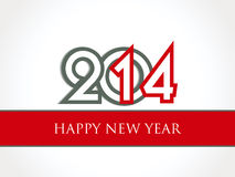 Creative Happy New Year 2014 celebration background. Creative Happy New Year 2014 background Royalty Free Stock Image